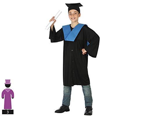 Atosa Costume in maschera 5 a 6 años blu