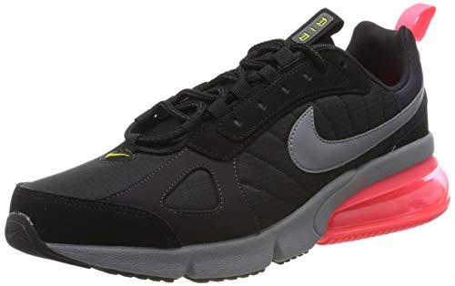 Nike Air MAX 270 Futura, Zapatillas de Running Hombre, Negro (Black/Cool Grey/Oil Grey/Hot Punch 007), 42 EU