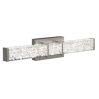 Artika Van-RIV-NC Riviera Vanity Light, Brushed Nickel