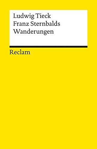 Franz Sternbald's Wanderungen (German Edition) by Ludwig Tieck (1998-12-31)
