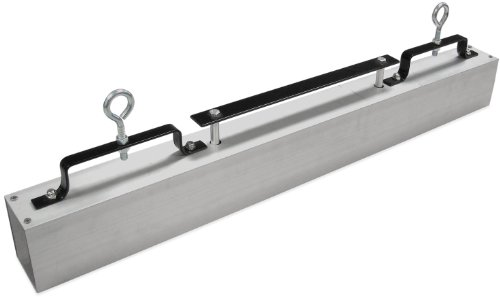 """Master Magnetics MRHS36RXC Magnetic Sweeper Hang-Type for Forklift Truck, 36"""" Sweeping Width and Quick Release, 1 each"""