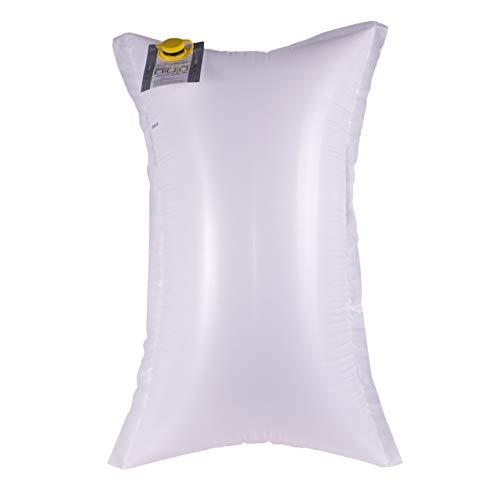 LINDER 10 sacos con revestimiento de tejido de polipropileno, 90 x 180 cm, protección óptima contra la humedad y bordes afilados, nivel 1, con válvula lateral