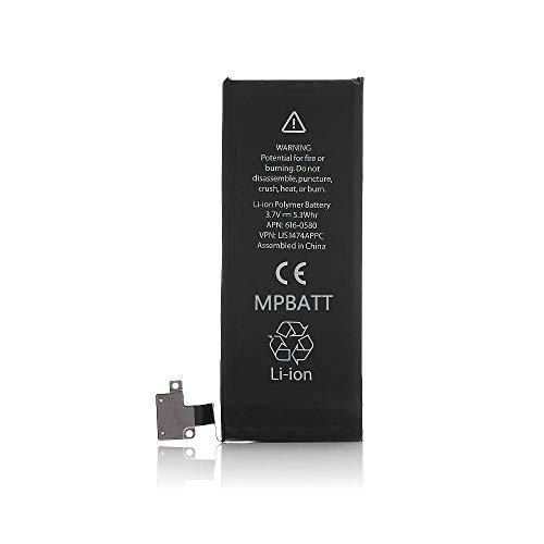 MPBATT Battery Replacement for Model iPhone 4S A1431, A1387 with [365 Days Warranty]