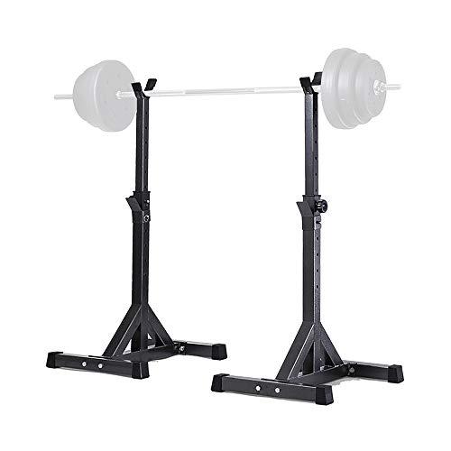 Soporte para Pesas Rack Sentadillas Entrenamiento musculación en casa