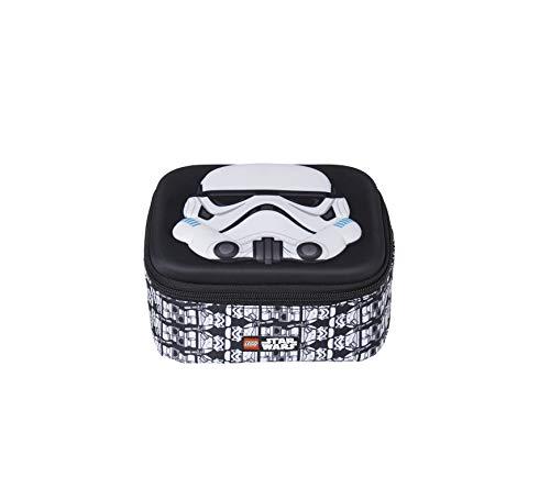 Lannoo Graphics Unisex-Kinder Lego Star Wars Stormtrooper Brotdose 3d Rucksack Schwarz (Black/Grey)