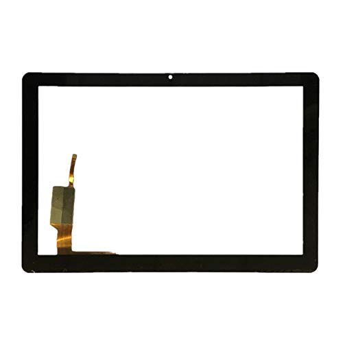 Kit de repuesto de pantalla para Acer Iconia Tab 10 A3-A40, digitalizador de pantalla táctil, kit de reparación de vidrio (color: negro)