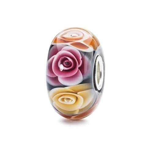 Trollbeads Glas Bead Rosen für Mutter