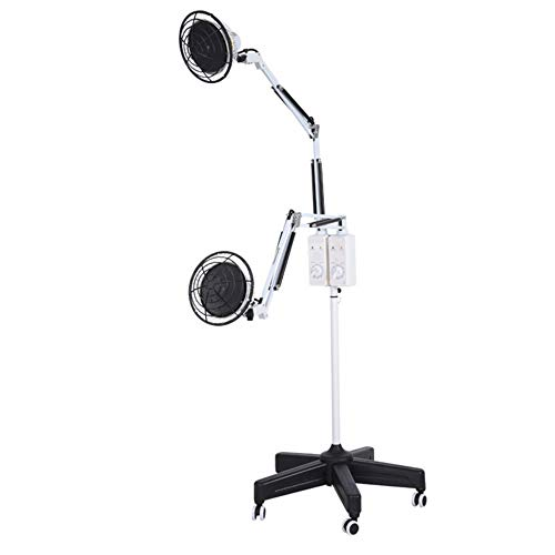 For Sale! Enshey Acupuncture Double Heads Infrared TDP Healing Lamp Double Timer Heating Lamp for Ba...