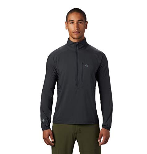 Mountain Hardwear Kor Preshell Jersey para hombre, tormenta oscura, XL