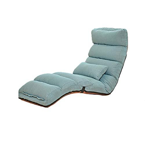 Beautiful home-chair Verstellbare Boden Stuhl Lazy Stühle Recliner Legless Boden Stuhl Gaming Japanese Boden Stuhl 175 cm (Color : F)