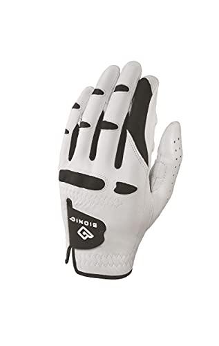 Male Glove Men's Stablegrip with Natural Fit Golf Glove Cadet Small Stablegrip with Natural Fit Golf Glove, White- 1