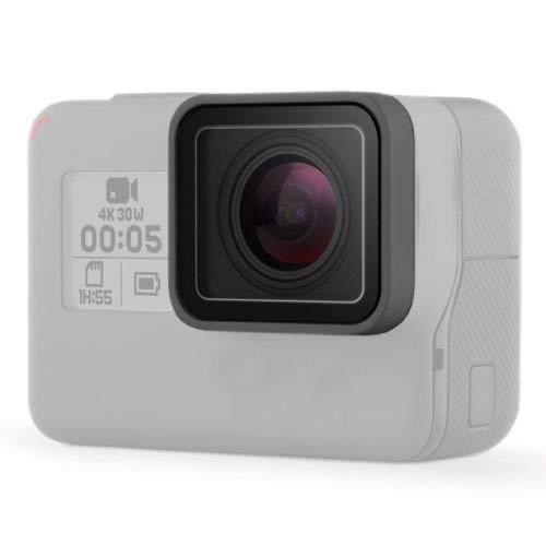 Linghuang - Carcasa de Repuesto para Lente de cámara GoPro Hero 7, Color Negro y Gris