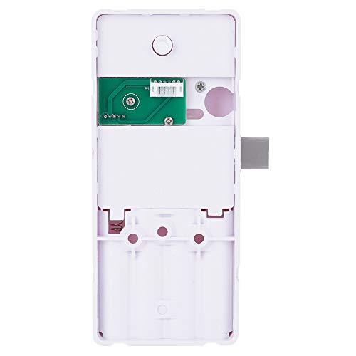 Pbzydu 【𝐄𝐚𝐬𝐭𝐞𝐫 𝐏𝐫𝐨𝐦𝐨𝐭𝐢𝐨𝐧 𝐌𝐨𝐧𝐭𝐡】 Smart Fingerprint Lock, Intelligent Fingerprint Password Keyless Lock for Office Gym Drawer Cabinet