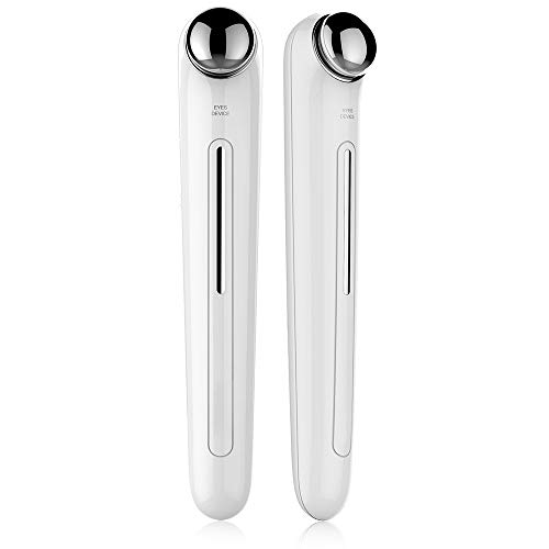 Eye Massager Device,Anti Aging Wrinkle Eye Patch Ion Relief Massage Machine Rejuvenation Beauty Care Portable Pen Eye Care Tools