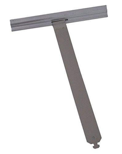 Aufhängefeder, Befestigungsfeder, Sicherungsfeder - Aluminium maxi für Rollladen 150 breit - Set 2 Stück -