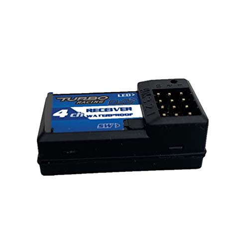 SHEAWA 4CH Receiver Independent Remote Control RX41 Receiver for Turbo Racing Transmitter VT System Parts & Accessories