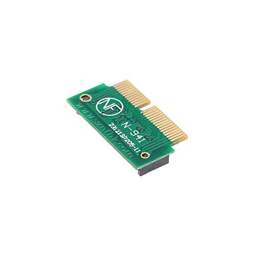 docooler 12 + 16Pin NGFF M.2 NVME SSD Convert Card Adattatore per aggiornamento 2013-2015 MacBook Air A1465 A1466 PRO A1398 A1502 Supporto AHCI SSD