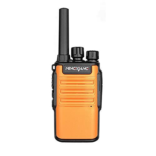ErLaLa Walkie-Talkie Mini de Mano inalámbrico de Alta Potencia Hotel Restaurante Centro Comercial Sitio de construcción al Aire Libre walkie-Talkie Profesional