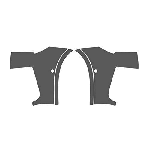 CHENTAOMAYAN Anti Scratch Car-Cover Bra Lack-Schutzfolie Vinylverpackungs-Kit freien transparenten Aufkleber für BMW X3 g01 2018 Zubehör (Color Name : Door Bowl)