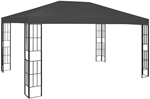 ZHENG Gazebo Canopy Marquee Tent Outdoor Canopy Garden Backyard Patio Marquee Awning Shelter, 3x4M