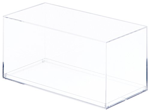 "Pioneer Plastics Clear Acrylic Display Case for 1:32 Scale Cars, 7.875"" x 3.8125"" x 3.875"" image"