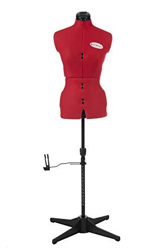 Singer FG952 - Maniquí de costura ajustable para mujer, busto (talla 36 a...