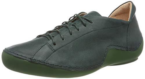 Think! Damen Kapsl_3-000045 Chromfrei Gegerbter, Nachhaltiger Sneaker, Grün 7000 Pino, 39 EU