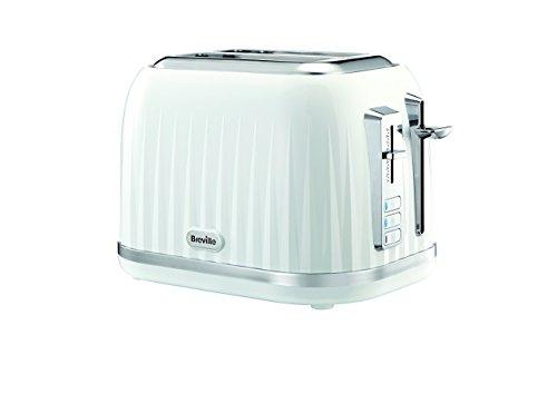 Breville VTT755X 2 Scheiben Toaster, Metall, weiß