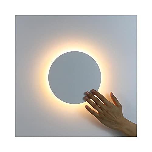 DingSORA Luz de Pared LED con Interruptor táctil Dormitorio Lámpara de Pared de la Cama de la Cama de Interior Lámpara de iluminación Lámpara de iluminación Lámpara de Hierro y Materiales acrílicos