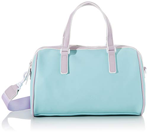 TOM TAILOR Denim Damen Merida Bowling Tasche, Grün (Mint), 31.5x19x12.5 cm