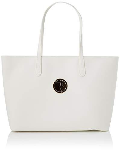 Trussardi Jeans Sophie Shopper E/W LG ECOLEATH Donna, W001, NR
