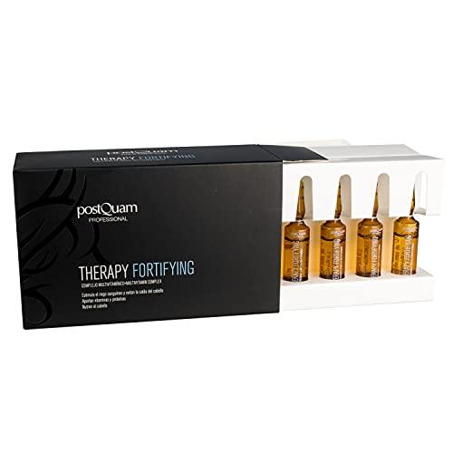 Postquam - Therapy | Complejo Multivitamínico para Combatir la Caida del Cabello - 12 ampollas anticaida x 9 ml