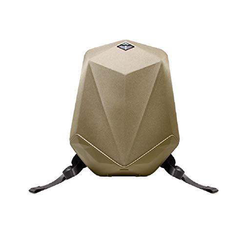 bbom 0818112230Música Mochila (de pa/Nailon), Dos Bluetooth–Altavoces HiFi y una Power Banco Integrado, Anti Robo de Cremallera, Impermeable Exterior Amarillo