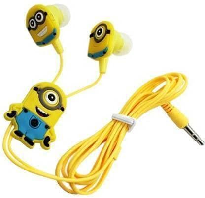 ASWORLD® Cartoon Wired Earphones Gamer Music Stereo Earbuds Outdoor Sport Running Headphones Kids Children  Birthday Return Gift