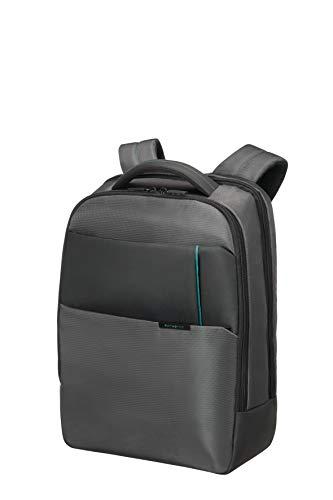 "Samsonite Qibyte Laptop Backpack 15.6"" Mochila Tipo Casual, 21.5 Litros, Color Antracita"