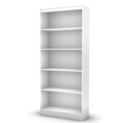 South Shore Axess 5-Shelf Bookcase-Royal Cherry