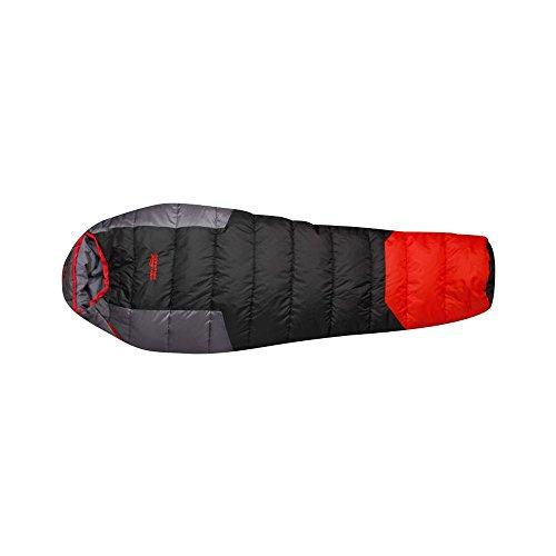 High Colorado Sherpa II Sacco a Pelo Nero Rosso, Nero/Rosso
