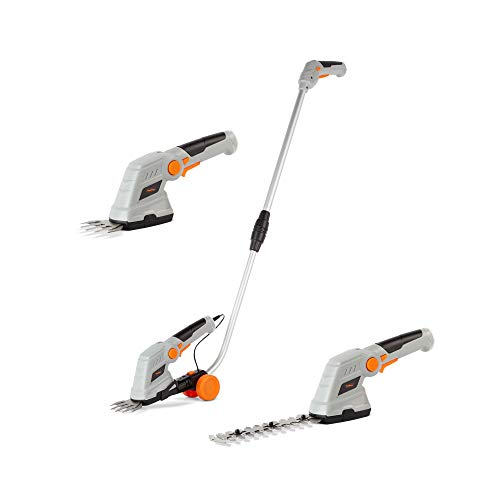 Best Price! VonHaus 7.2V 2 in 1 Grass and Hedge Trimmer - Battery Powered Cordless, Interchangeable ...