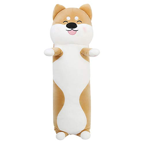 kinokoo - Almohada de peluche para cachorro, cojín de peluche (70 unidades), color marrón