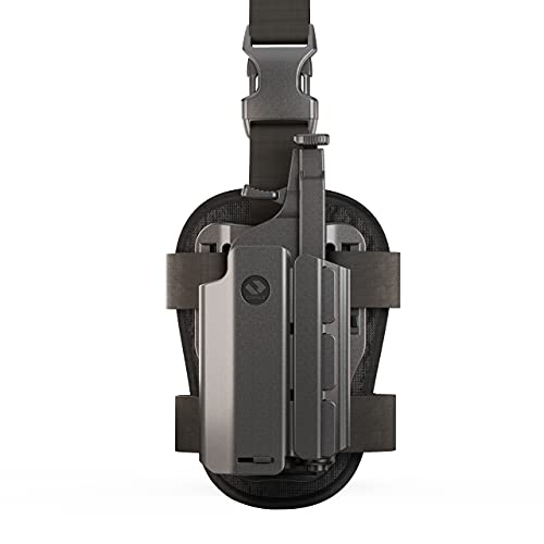 Orpaz Light Bearing Holster Compatible with Streamlight TLR-2 and SureFire X400 (with Drop-Leg Attachment)