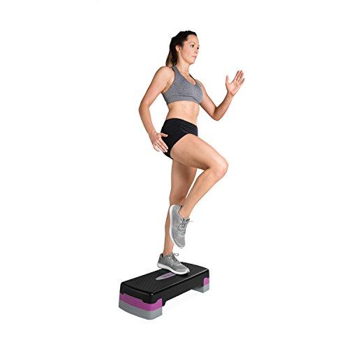 Tone Fitness Aerobic Step, Pink | Exercise Step Platform