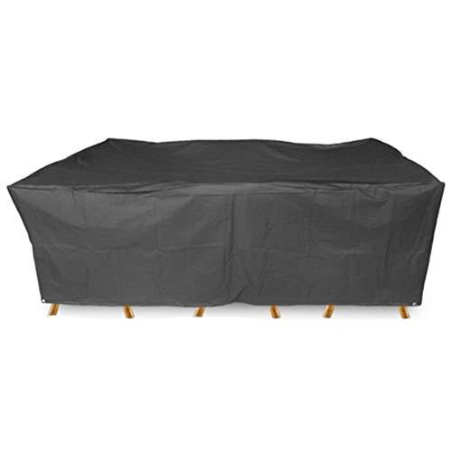 LYP Garden Furniture Covers Garden Rattan Furniture Cover Covers For Outdoor Furniture Dust-proof Waterproof Sunscreen Anti-UV Oxford Cloth Garden Furniture Cover (Size : 270x180x89cm)