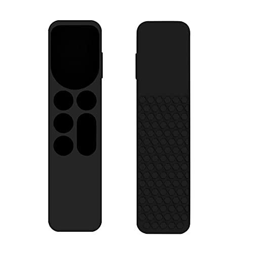 BBABBT Compatible con Apple TV mando a distancia, apto para Apple TV 4K 6ª generación, acceso completo, antideslizante, a prueba de golpes, funda protectora de silicona para Apple TV Remote