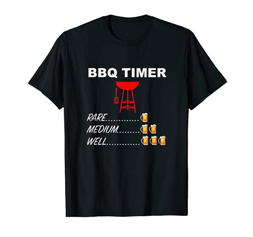 Grill-Timer   Grill-Timer   Lustiges BBQ-Grillen T-Shirt