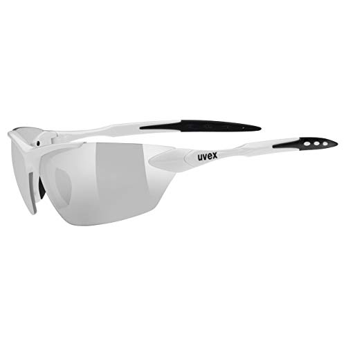 Uvex Sportbrille SGL 203 Gafas de Deporte, Unisex, Blanco, Talla única