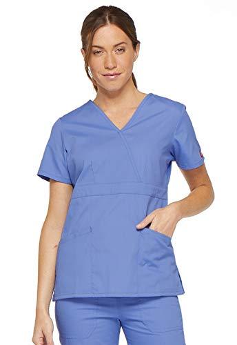 Dickies Camicia medica da donna Ceil Blue. XXS