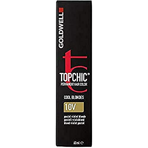 Goldwell Topchic Haarfarbe 10V pastell-violablond, 1er Pack (1 x 60 ml)