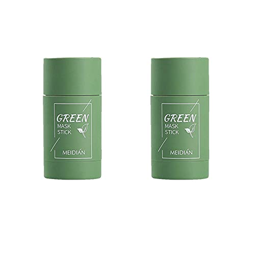 Yeky Green Tea Purifying Clay Stick Mask, Anti-Aging Hydrating Cleansing Mask, Powerful Oil Controls Face Care Clay Mask (Green)