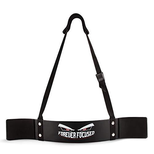 FOREVER FOCUSED® Premium Bizeps Blaster - Arm Blaster - Bizepstrainer, Armtrainer, Bizeps Isolator für Bodybuilding und Fitness. Muskelaufbau, Kraftsport, Gewichtheben, Krafttraining, Sport, Workout