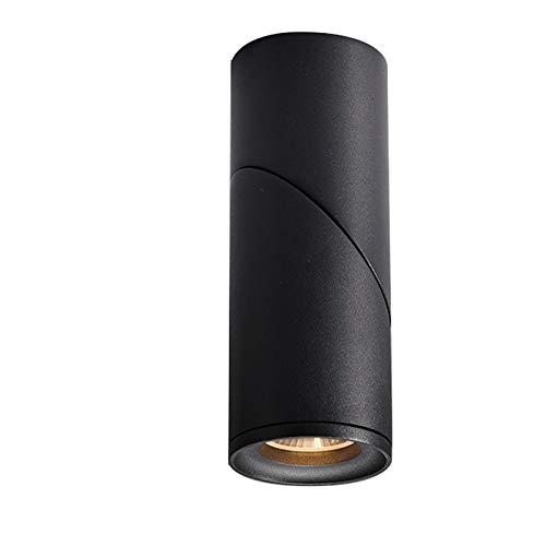Cnlololog Tienda de Foco de Techo Tienda de Ropa Comercial LED Luz de Techo Dormitorio Creativo Dormitorio Sala de Estar sin luz Principal Superficie para el hogar Montado Spotlight